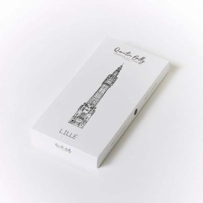 Beffroi à croquer : une tablette fourrée de praliné noisette