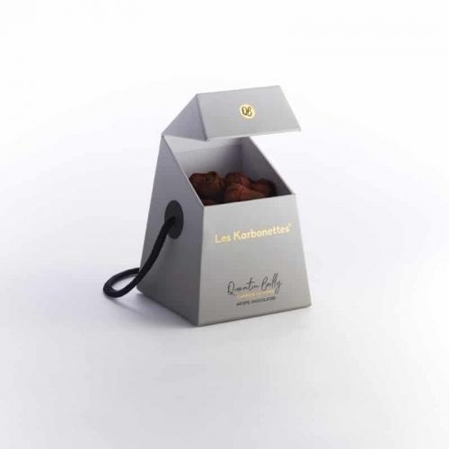 Les karbonettes, spécialité chocolatée clin d'œil à la région