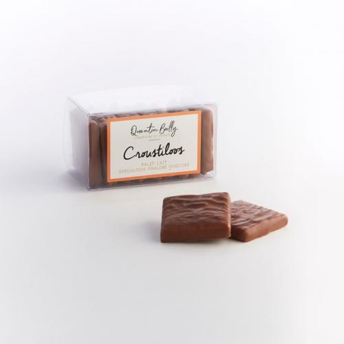 Croustiloos lait : spécialité chocolatée au praliné noisette