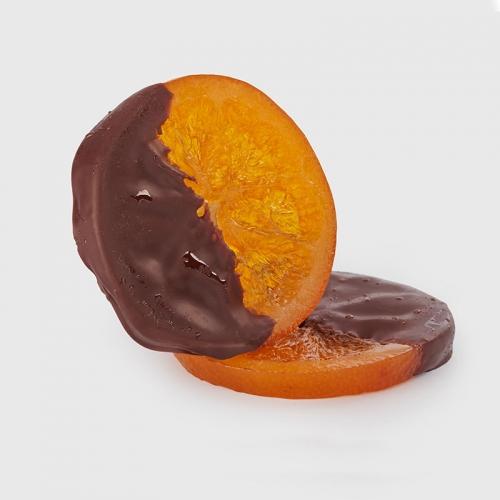Tranches d'orange confites