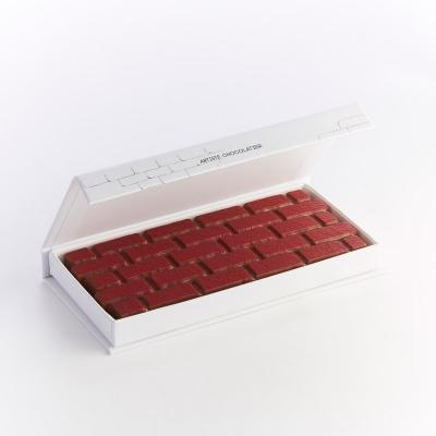 Tablette au chocolat au lait 32% fourrée au praliné