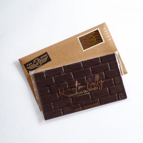 Tablette chocolat noir pur Guatemala 73% de cacao