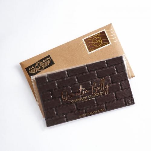 Tablette chocolat noir pur Jamaïque 73% de cacao