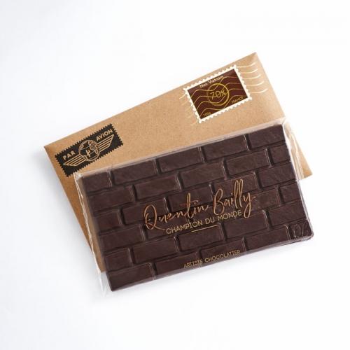 Tablette chocolat noir pur Vietnam 70% de cacao