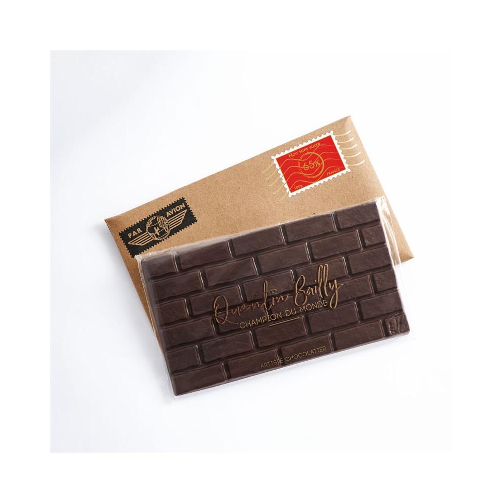 Tablette chocolat noir biologique et équitable 70% de cacao