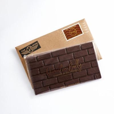 Tablette chocolat noir pur Madagascar 64% de cacao