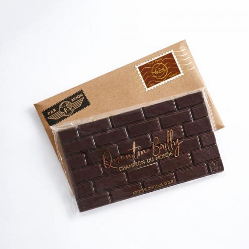 Tablette chocolat noir pur Pérou 63% de cacao