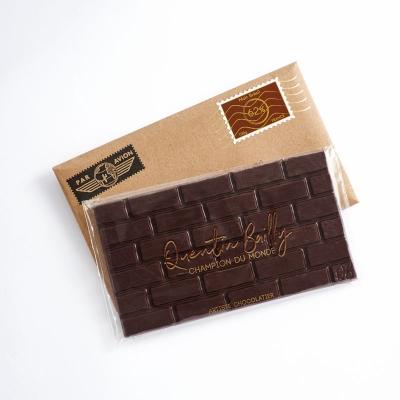 Tablette chocolat noir pur Brésil 62% de cacao