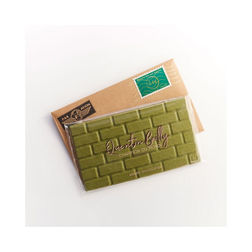 Tablette chocolat au thé vert Matcha Premium