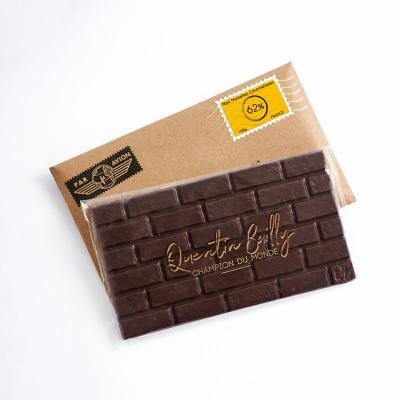 Tablette chocolat noir et noisettes caramélisées 62% de cacao