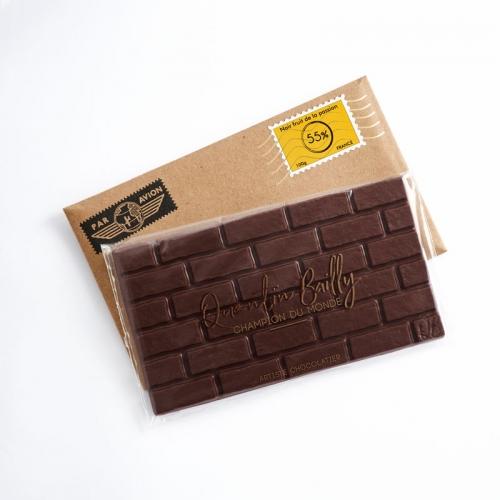Tablette chocolat noir pur Brésil (passion) 55% de cacao