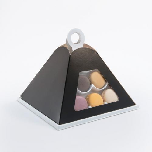 Petite Pyramide de macarons par 24
