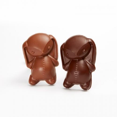 Toudoux est une guimauve vanille de Nouvelle-Calédonie enrobée de chocolat au lait