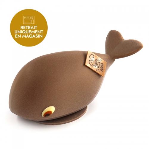 Notre baleine de Pâques version chocolat au lait