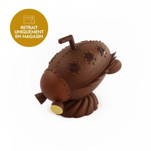 Notre œuf sous-marin de Pâques au chocolat